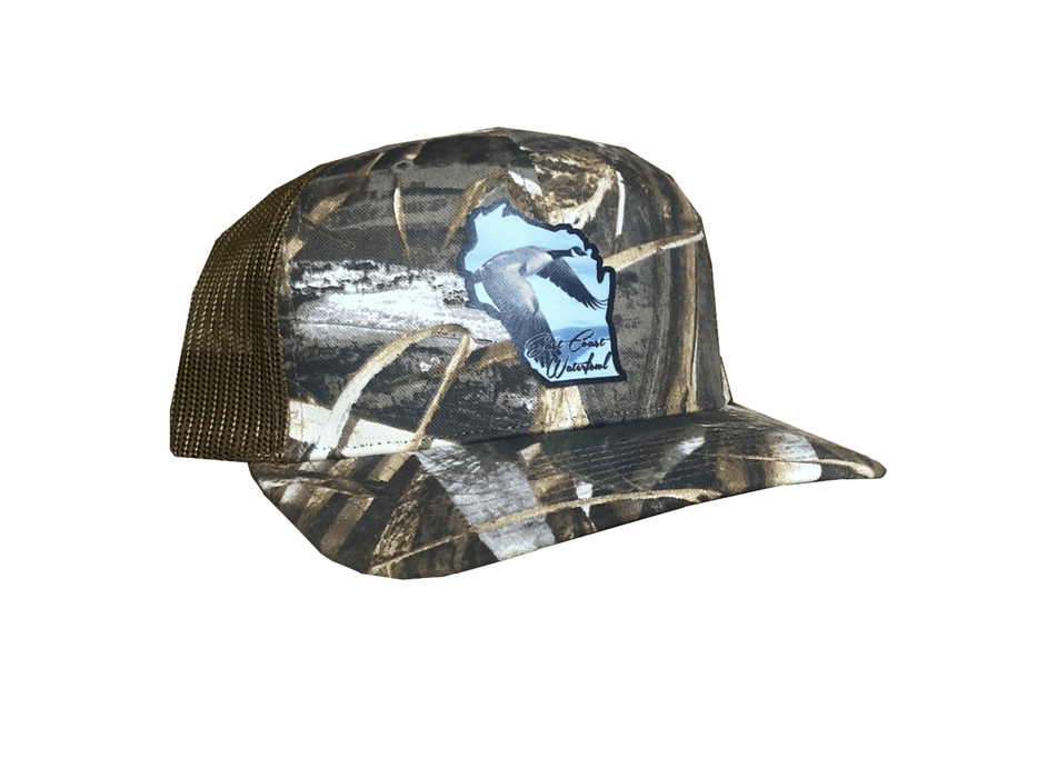 Max5 Wisonsin Canadian Goose Trucker Hat | East Coast Waterfowl