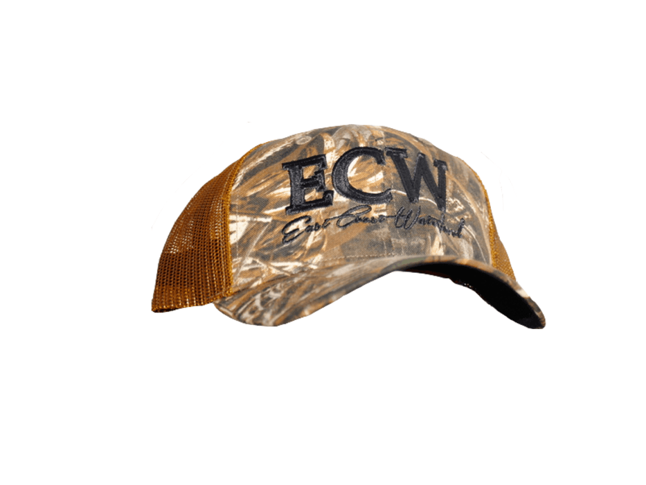East Coast Waterfowl Camo Max 5 Snap Backs