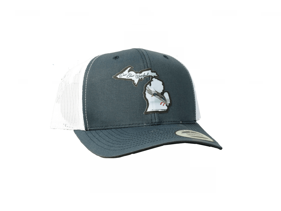 Michigan Mallard State Patch Trucker Hat | East Coast Waterfowl