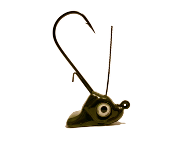 Moss Green Ned Rig Stand Up Jig Head