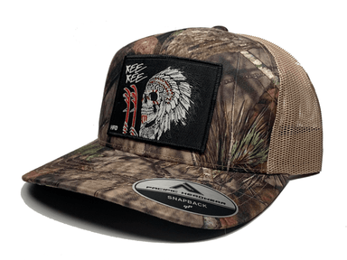 Mossy Oak Indian Chief Kee Kee Hat - Hunting and Fishing Depot