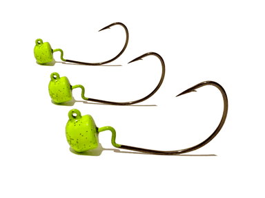 Neon Pepper EWG Ned Rig Jig Heads 3pk