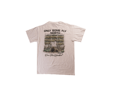 Only Some Fly North White (Back) | East Coast Waterfowl