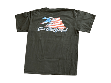 Patriotic Duck (Back) T-shirt | East Coast Waterfowl