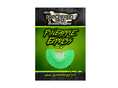 Pineapple Express | Diaphragm Turkey Call | Longbeard Life - Hunting and Fishing Depot