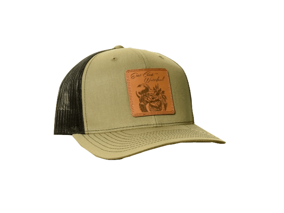 Pintail Leather Patch Trucker Hat | ECW - Hunting and Fishing Depot