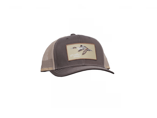 East Coast Waterfowl Old School Camo Pintail Patch Snap Back - Hunting and Fishing Depot