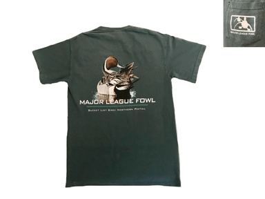 Pintail Bucket List | Major League Fowl  | T-shirt - Hunting and Fishing Depot