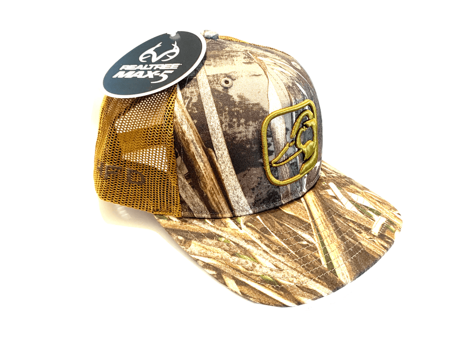 Realtree Max5 Mallard Head Duck Hat