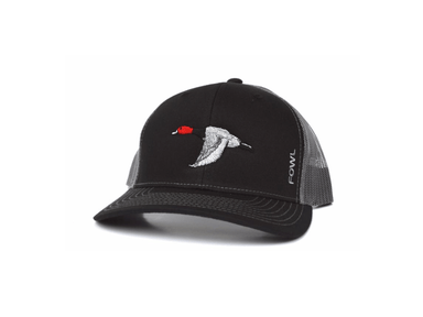 Black/Grey Redhead Snapback | Fowl | Hunting and Fishing Depot