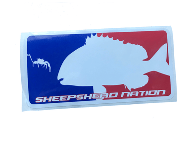 Major League Sheepshead Decal - Hunting and Fishing Depot