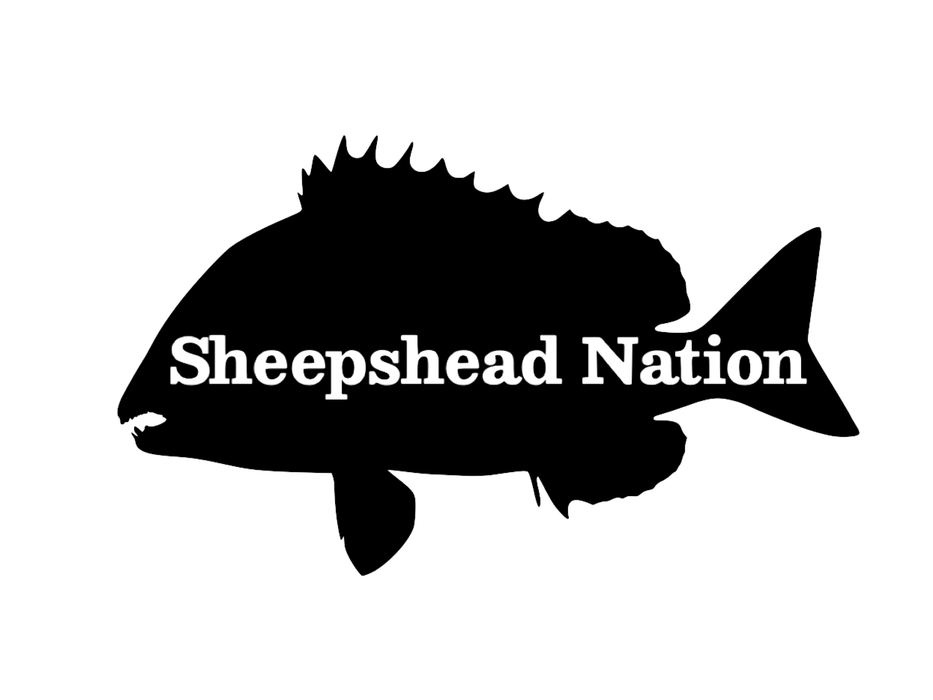 Sheepshead Nation Silhoutte Decal