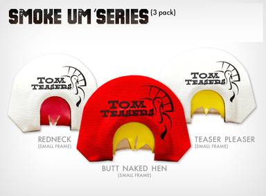 Smoke Um' Series | Small Frame Calls | Tom Teasers - Hunting and Fishing Depot