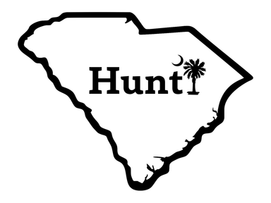 Hunt South Carolina Palm Decal | Hunting and Fishing Depot