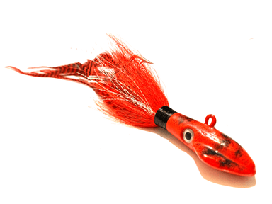 Squid Fire Red Cobia Jig