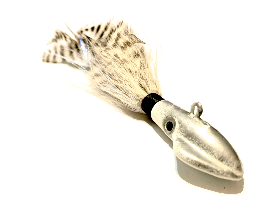 Squid Ghost White Cobia Jig