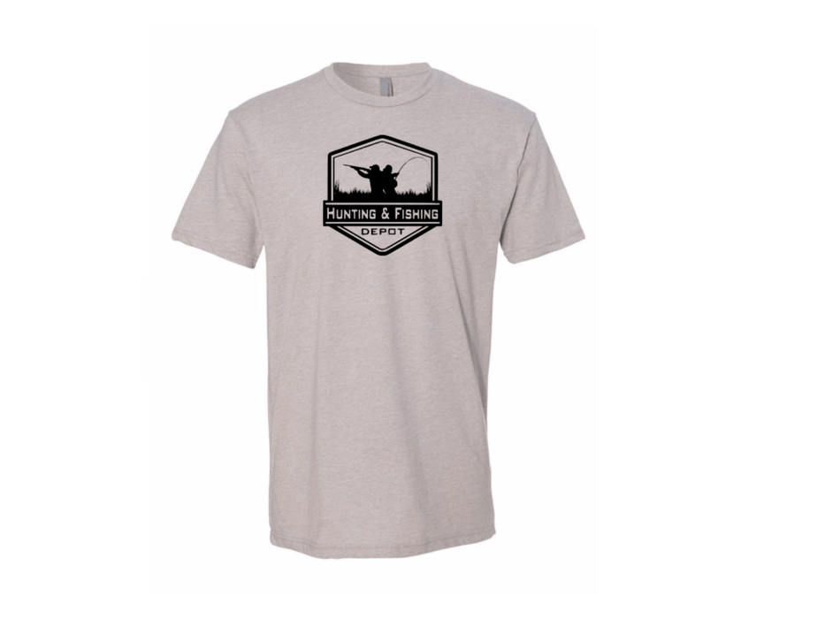 Stone Hunting and Fishing Depot T-shirt - Hunting and Fishing Depot