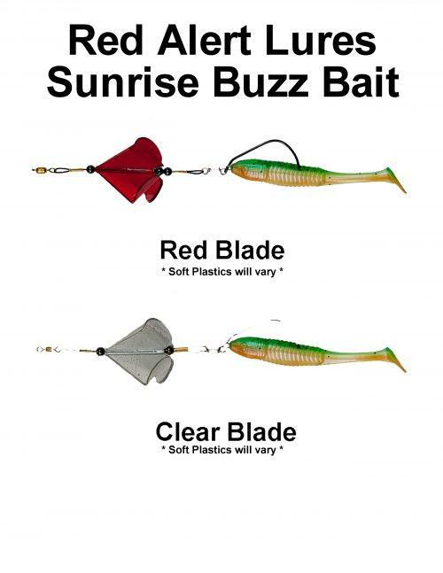 Buzz Bait for fresh and salt water.  Great for Bass and Redfish