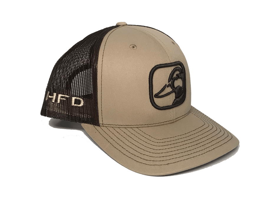 Tan Mallard Hat (Side) | HFD
