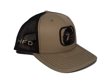 Khaki / Brown Ultimate Turkey Hat (Side) | HFD