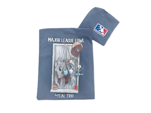 Teal Trio T-shirt | Major League Fowl