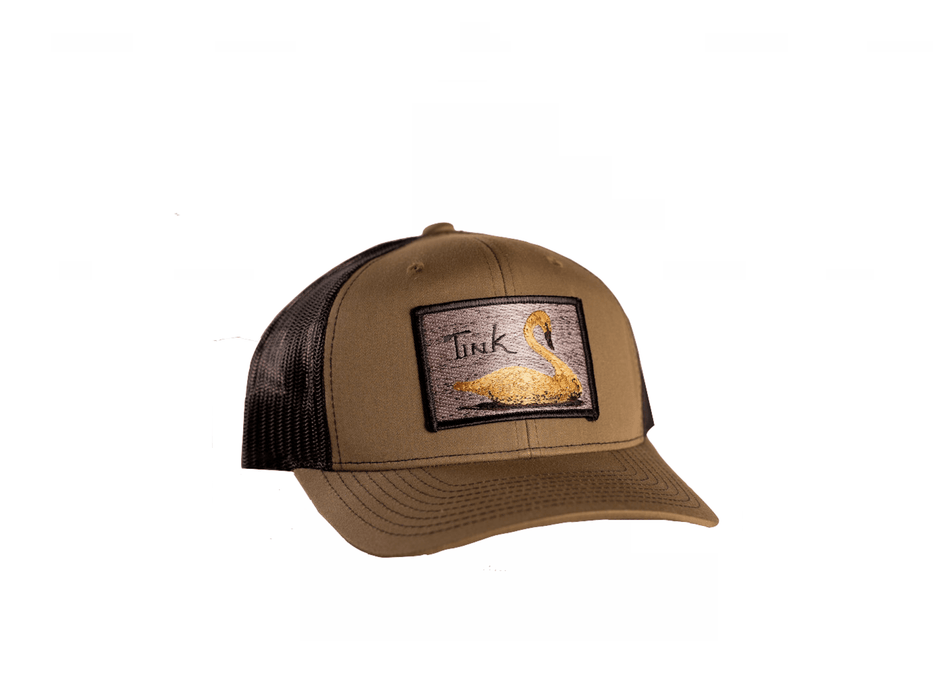 Tink Swan Decoys Patch Trucker Hat | East Coast Waterfowl - Hunting and Fishing Depot