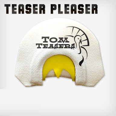 Teaser Pleaser | Diaphragm Turkey Calls  | Tom Teasers - Hunting and Fishing Depot