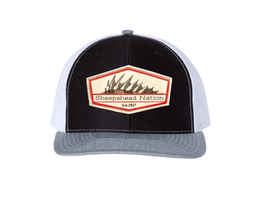 Tri-Color Sheepshead Nation Hat - Hunting and Fishing Depot