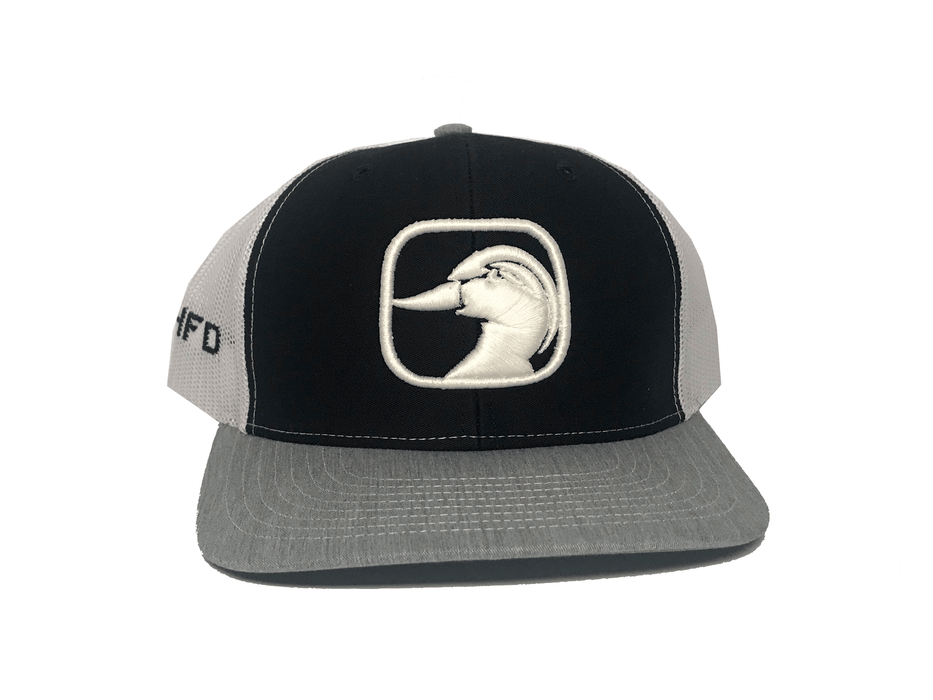 Black Duck Hat | Ultimate Waterfowl Hunting Trucker Hat | HFD - Hunting and Fishing Depot