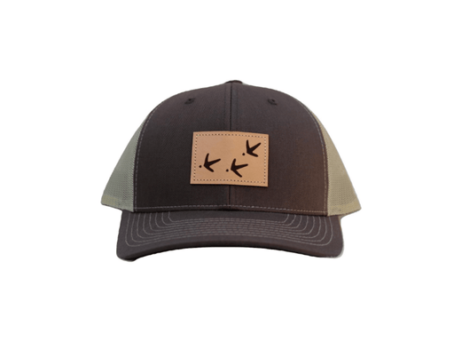 Brown/Khaki Turkey Tracks Trucker Hat | Major League Fowl