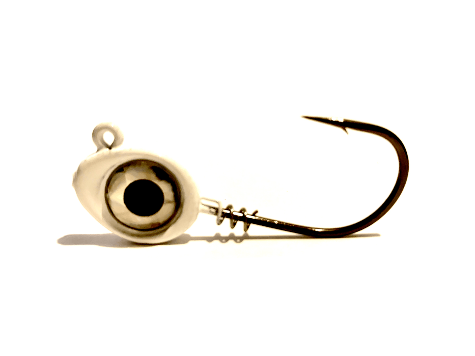 White BMF Eye Jig