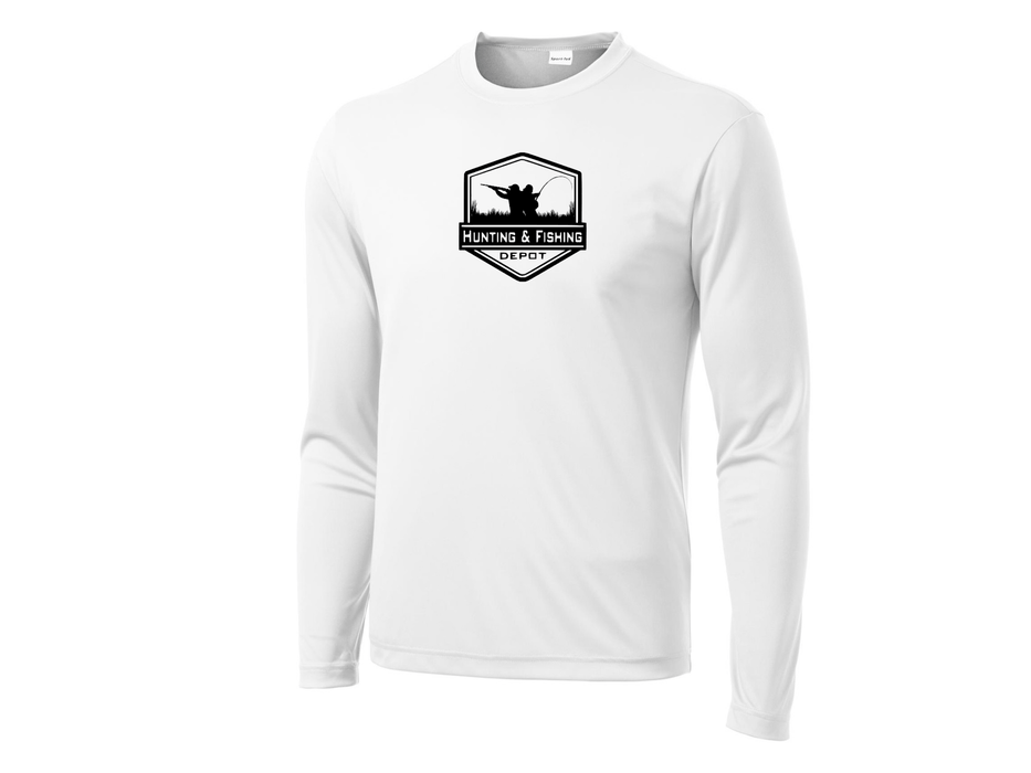 White Performance Shirt Hunting and Fishing Depot - Hunting and Fishing Depot