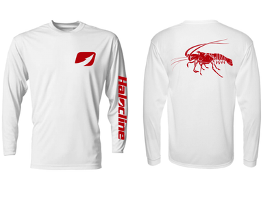 Rock Lobster Performance Shirt From Halocline White