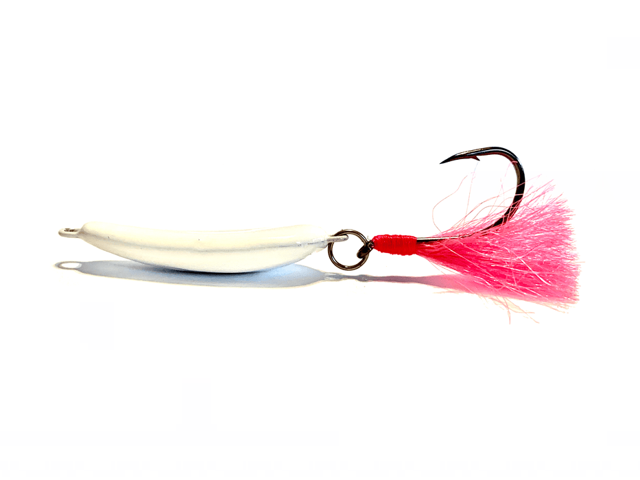 White/Pink Pompano Jigger Fleas - Hunting and Fishing Depot