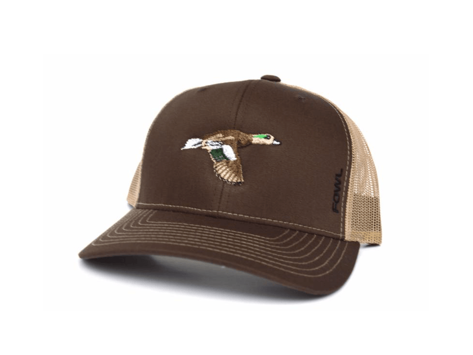 Brown/Khaki Wigeon Snapback | Fowl | Hunting and Fishing Depot