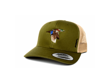Moss/Khaki Wood Duck Snapback | Fowl | Hunting and Fishing Depot