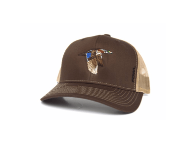 Brown/Khaki Wood Duck Snapback | Fowl | Hunting and Fishing Depot