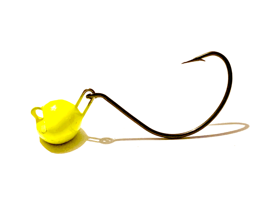 Yellow Chartreuse Flounder Jig