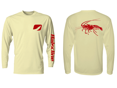 Spiny Lobster Performance Shirt From Halocline Yellow