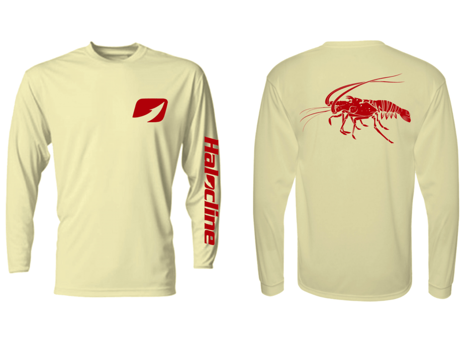 Spiny Lobster Performance Shirt From Halocline - Hunting and Fishing Depot