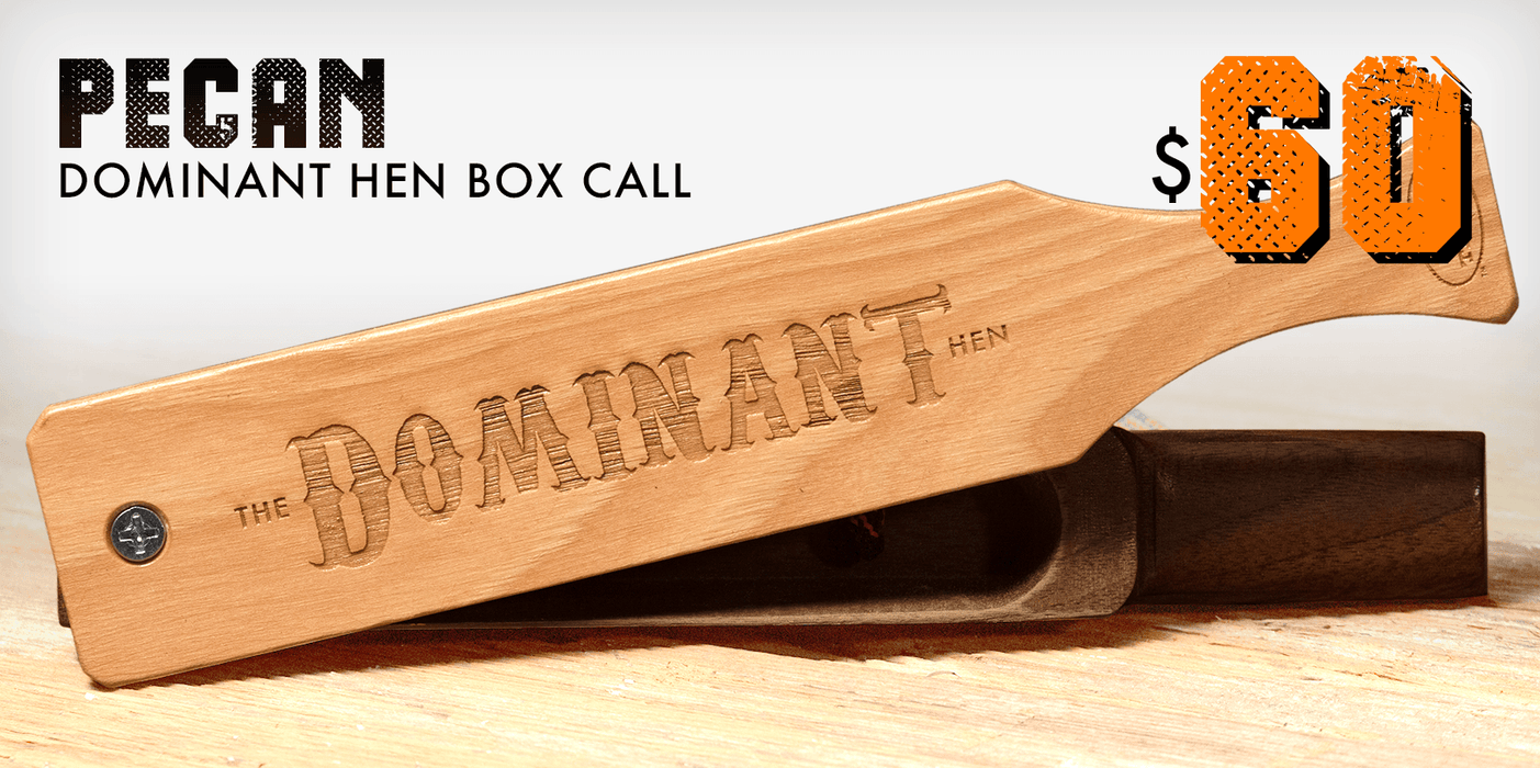 Dominant Hen | Box Call | Tom Teasers - Hunting and Fishing Depot