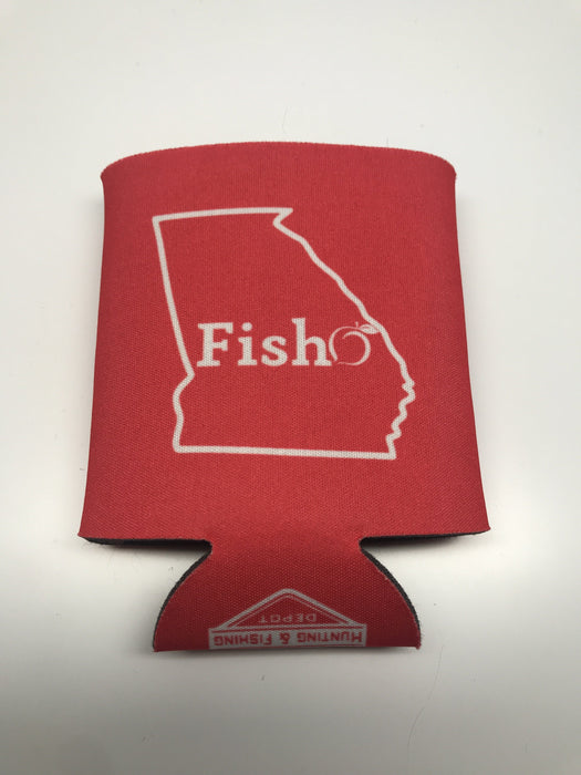 Fish Georgia Koozie - Hunting and Fishing Depot