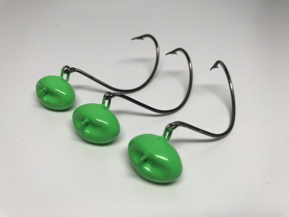 Green Flounder Jigs - Hunting and Fishing Depot