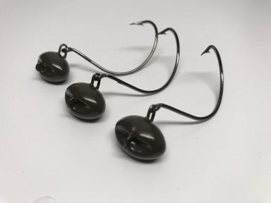 Charcoal Green Flounder Jigs - Hunting and Fishing Depot