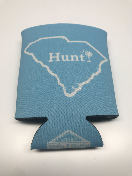 Hunt South Carolina Koozie | Hunting and Fishing Depot (Back)
