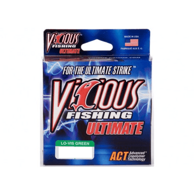Vicious Ultimate Mono Fishing Line- 6 lb 330 Yards