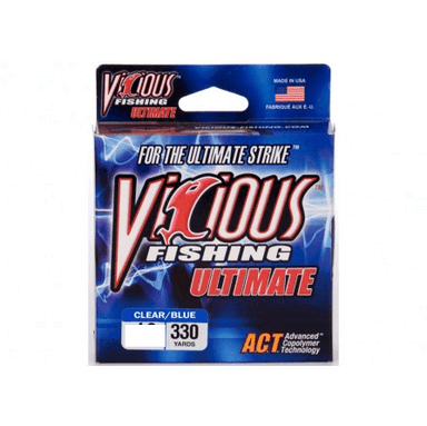 Vicious Ultimate Mono Fishing Line- 4 lb 330 Yards - Hunting and Fishing Depot