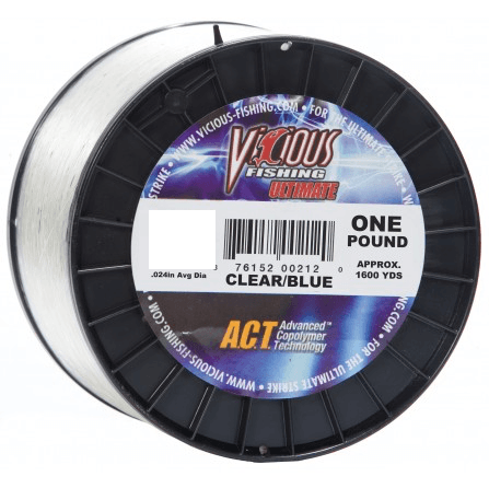 Vicious Ultimate Mono Fishing Line- 12 lb