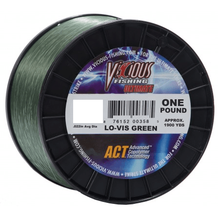 Vicious Ultimate Mono Fishing Line- 30 lb - Hunting and Fishing Depot