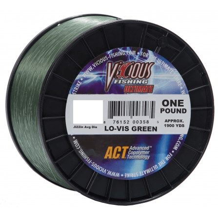 Vicious Ultimate Mono Fishing Line- 14 lb
